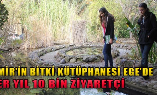 İzmir'in Bitki Kütüphanesi Ege'de