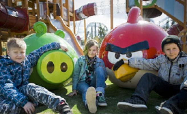 Finlandiya'da ilk resmi Angry Birds Parkı açılıyor
