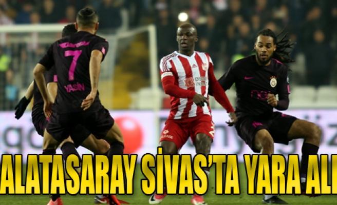 Galatasaray 1 - 2 Sivasspor