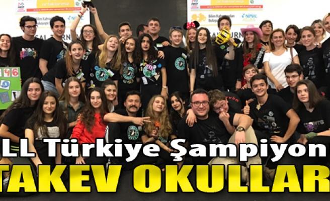 FLL Türkiye Şampiyonu TAKEV