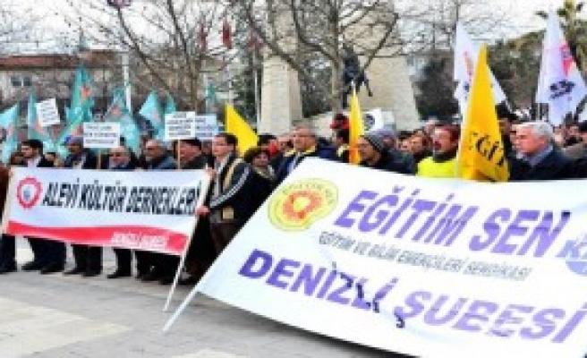 Okulu Boykot Eden Öğretmenler Yürüdü