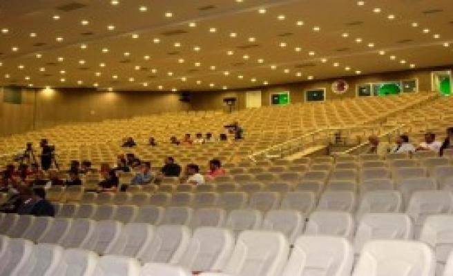 Deprem Konferansında Katılımcı Depremi