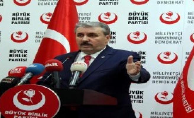 Destici: Türkiye, Afrin Operasyonu İle Yetinmemeli