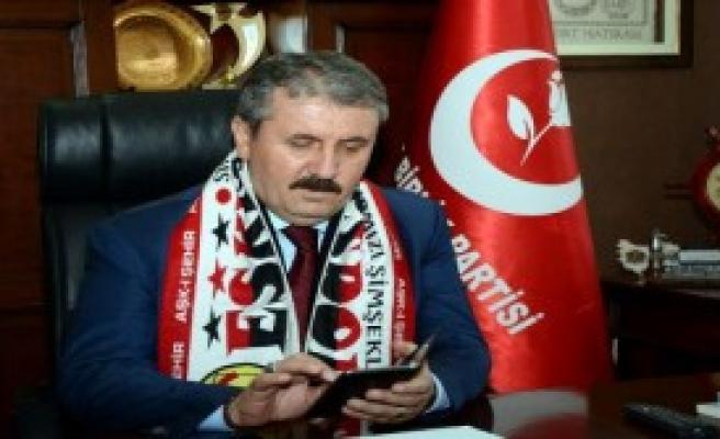 Destici'den Eskişehirspor'a SMS Desteği