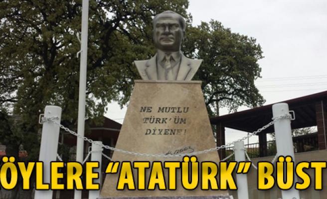 Köylere 'Atatürk' Büstü