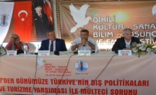 Dikili'de Mülteci Paneli