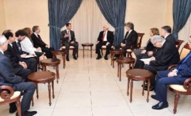 Perinçek Şam'da Esad İle Görüştü