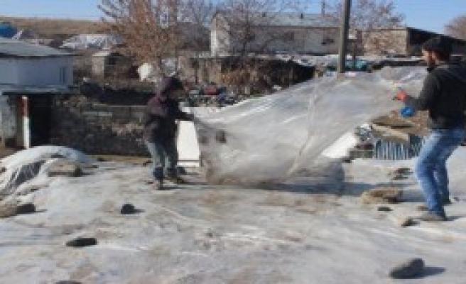 Soğuklar Ardahan -26.3'ü Gördü
