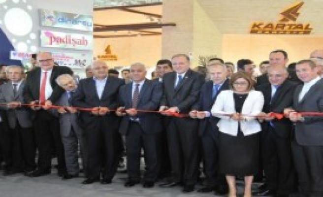 Halı Fuarı Gaziantep'te Açıldı