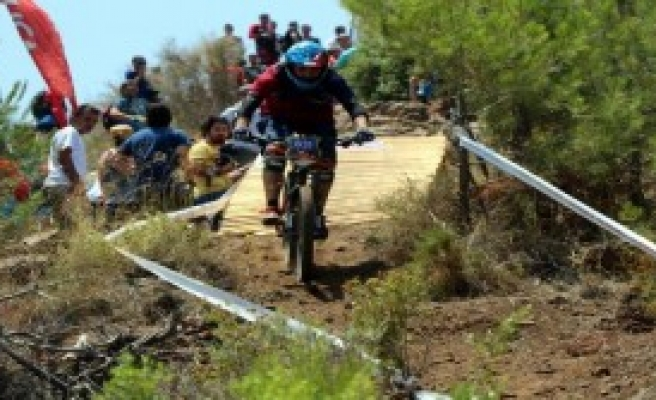 Dağ Bisikleti Yarışı Başladı