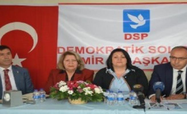 DSP İzmir'e Karahan Başkan
