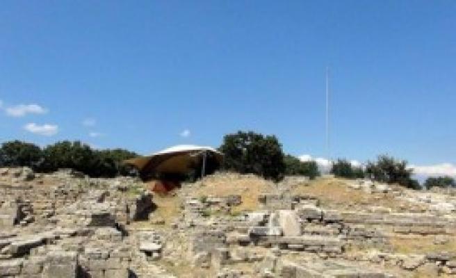 Dünya Mirası Troia'nın Kalbine Hançer