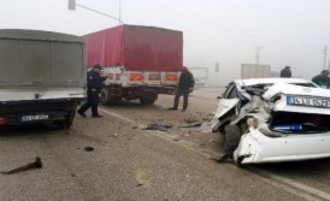 Düzce Vali Yardımcısı Kazada Yaralandı
