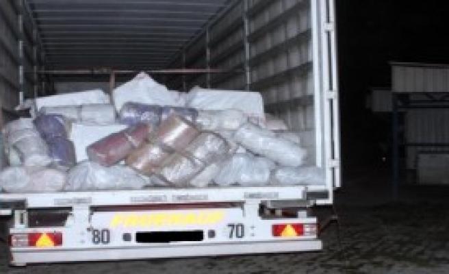 127 Bin Paket Kaçak Sigara Ele Geçirildi