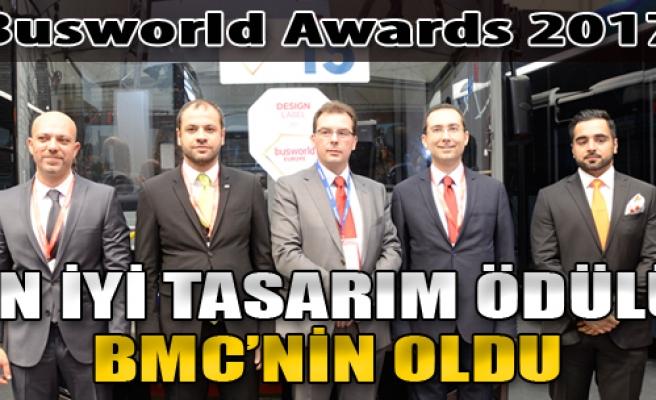 Busworld Awards 2017 En İyi Tasarım Ödülü BMC'nin Oldu!