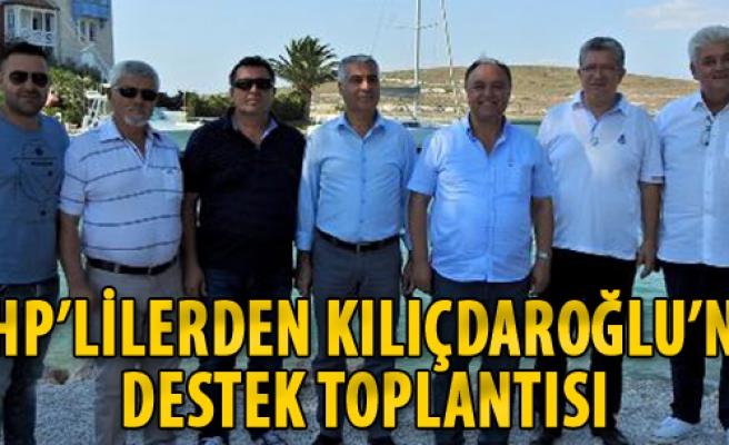 CHP'lilerden Kılıçdaroğlu'na Destek Toplantısı