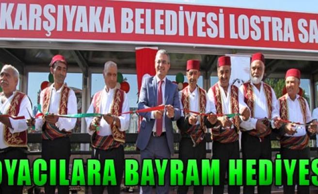 Karşıyaka Belediyesi Hediyesini Verdi!