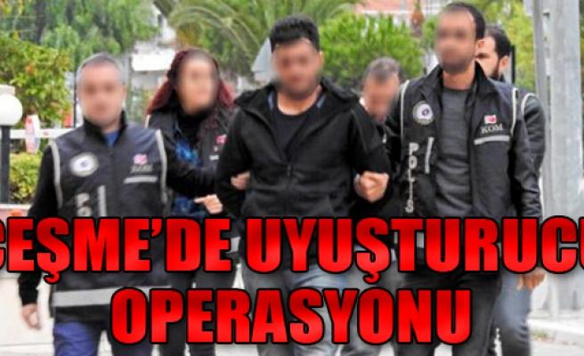 Çeşme'de Uyuşturucu Ticaretine 2 Tutuklama