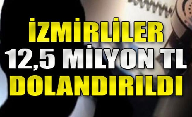 İzmir'de Büyük Dolandırıcılık