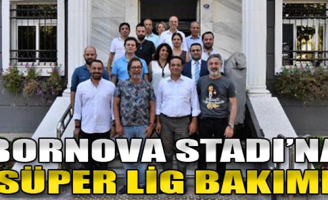 İzmir Bornova Stadı'na Süper Lig Bakımı