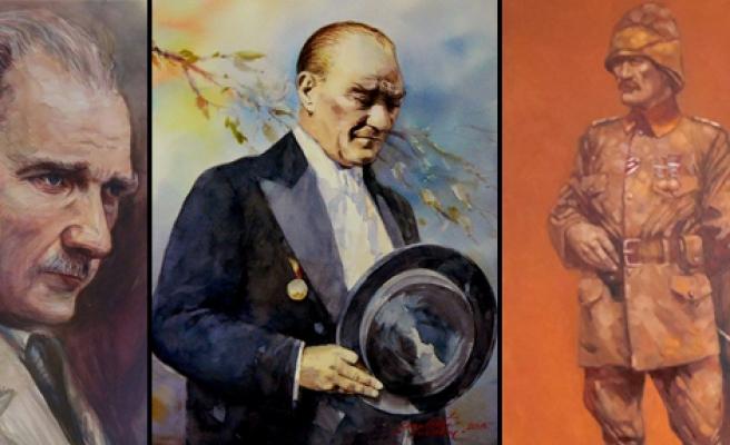 'Atatürk Karma Resim Sergisi'