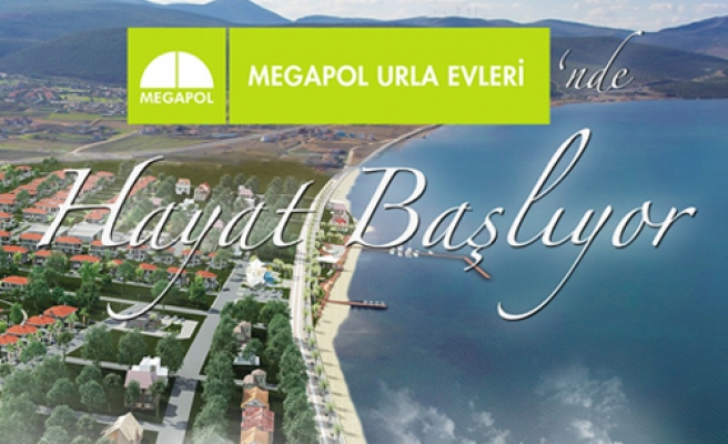 Megapol Urla'da Yaşam Başlıyor
