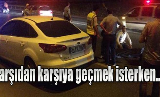 Gaziemir'de Korkunç Kaza