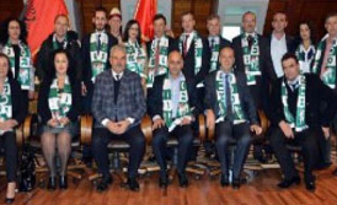 Kosova'dan Bursaspor'a Ziyaret