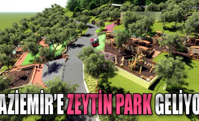 Gaziemir'e 'Zeytin Park' Geliyor