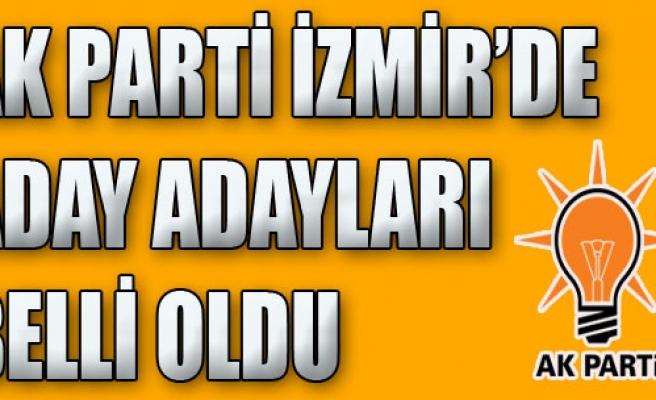AK Parti İzmir'de Aday Adayları Belirlendi