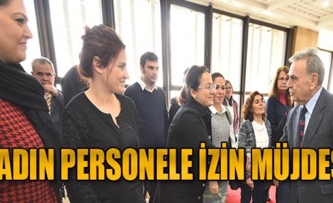 Büyükşehir'den 8 Mart Jesti