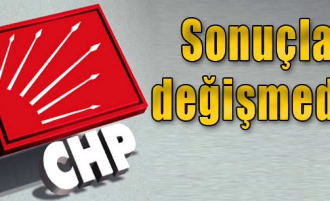 CHP,  İzmir'de Yine Önde