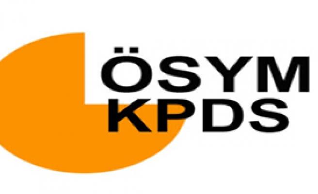 KPDS Yapıldı