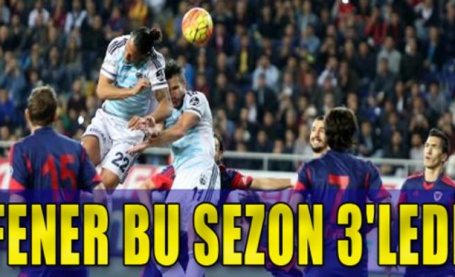 Fenerbahçe: 3 - M.İdmanyurdu: 1