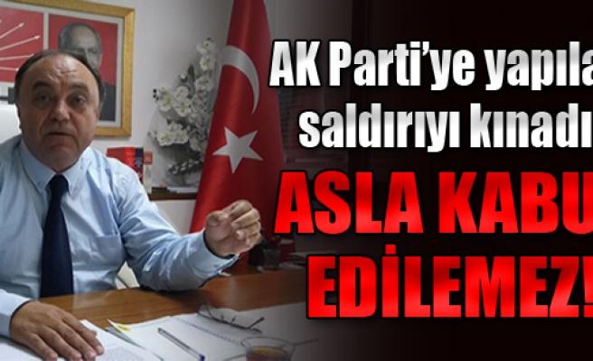 CHP İzmir'den AK Parti'ye Geçmiş Olsun Mesajı