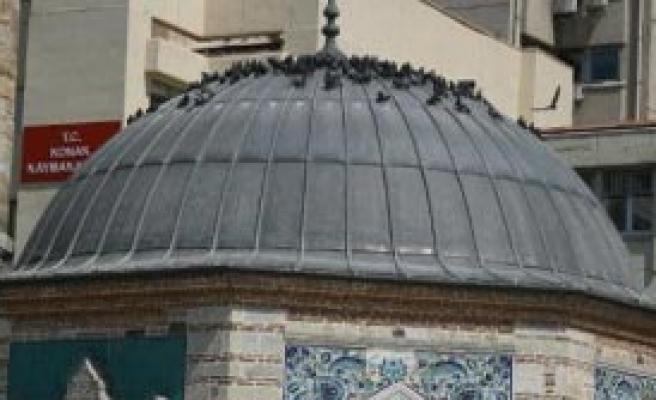 Camiye Güvercin Önlemi