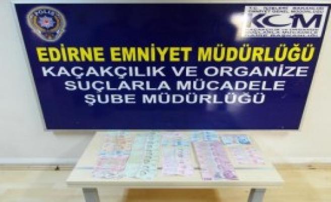 Edirne'de Sahte Para Operasyonu