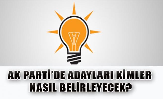 AK Parti'de Adayları Kimler Belirleyecek?