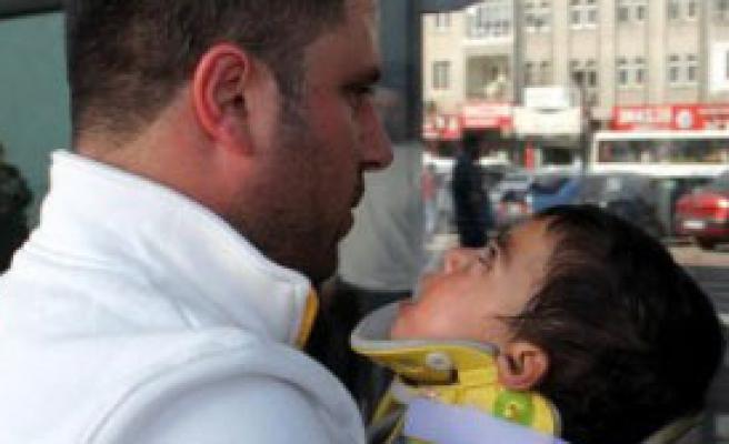 Kayseri'de Kaza: 4'ü Çocuk 7 Kişi Yaralandı
