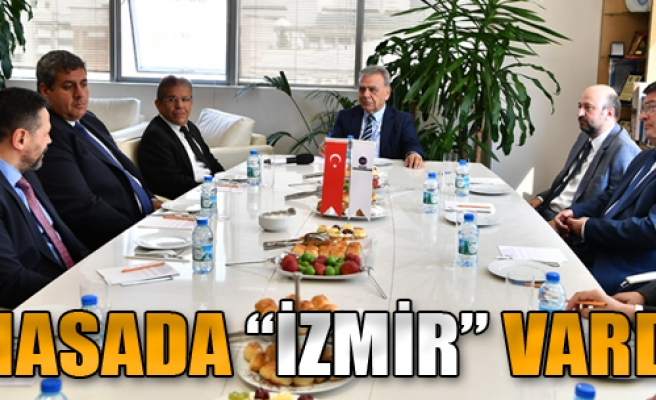Masada 'İzmir' Vardı