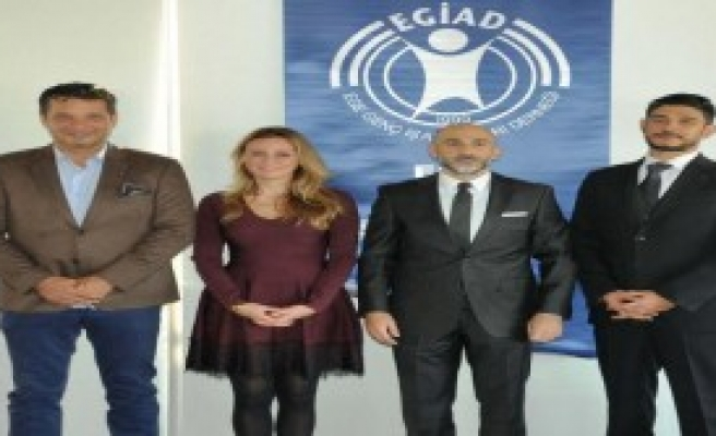EGİAD Başkanı Seda Kaya'dan Veda Toplantısı