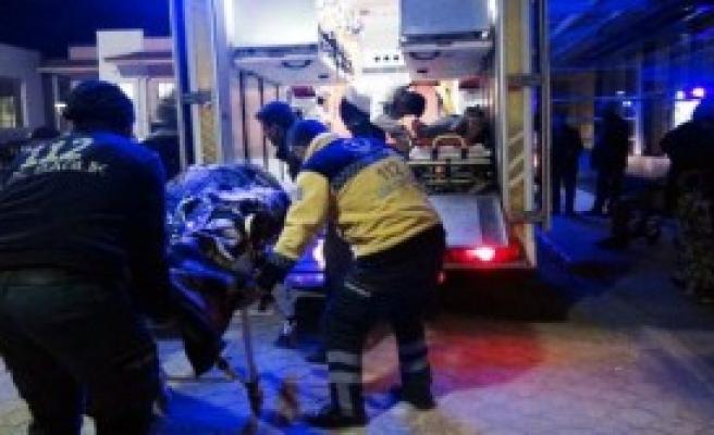 Yaralanan 12 ÖSO Askeri, Kilis'e Getirildi