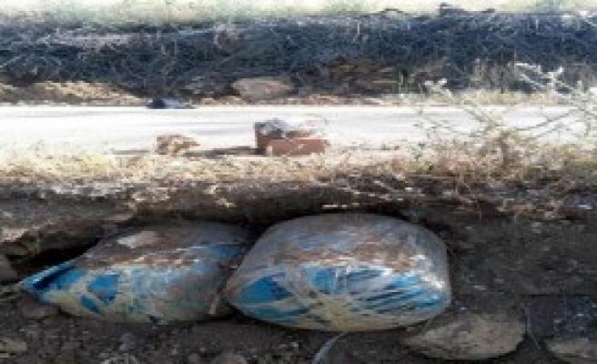 PKK'nın Yola Tuzakladığı Patlayıcı İmha Edildi