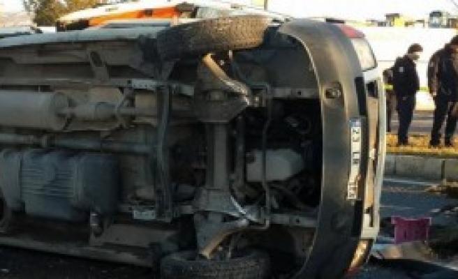 Elazığ'da Kaza: 2 İşçi Öldü