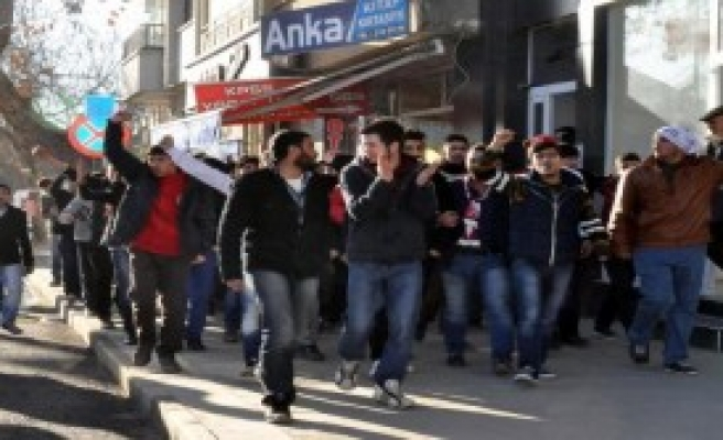 Elazığ'da TFF Protestosu