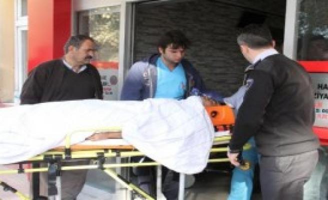 Elektrik Direğinden Düşen İşçi Ağır Yaralandı