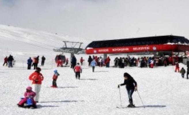 Erciyes Dağında Tatil Bir Başka