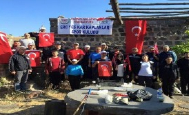 Serçel Yaylası'nda Terör Protestosu