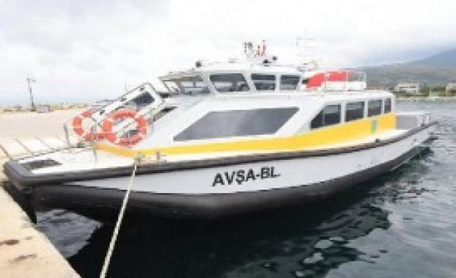 Deniz Taksi Seferleri Başladı