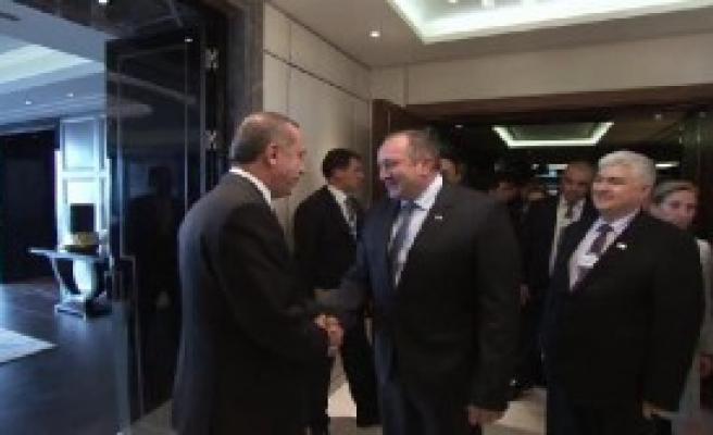 Gürcistan Ve Kırgızistan Liderleriyle Görüştü